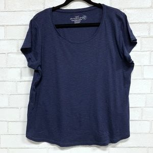 H&M navy short sleeve tee - XL